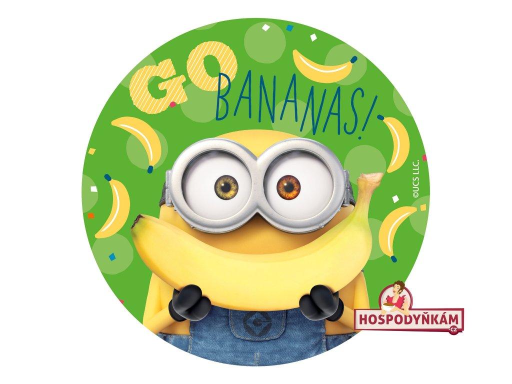 Jedlý papír deKora, Mimoň s banánem