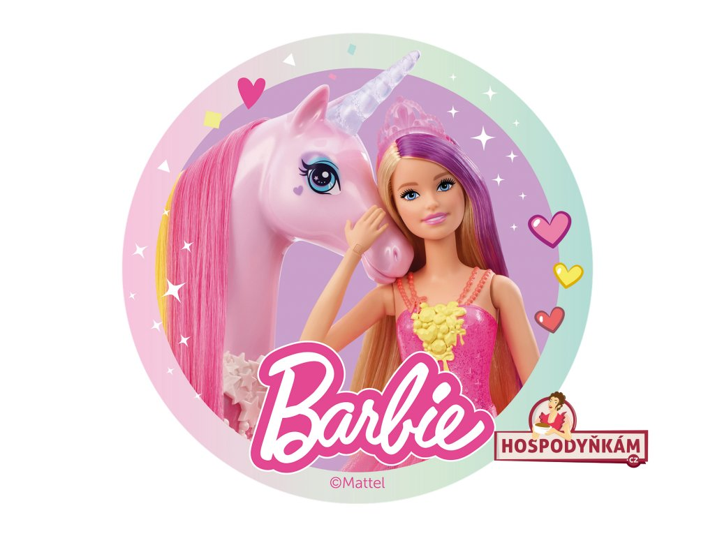 Jedlý papír deKora, Barbie