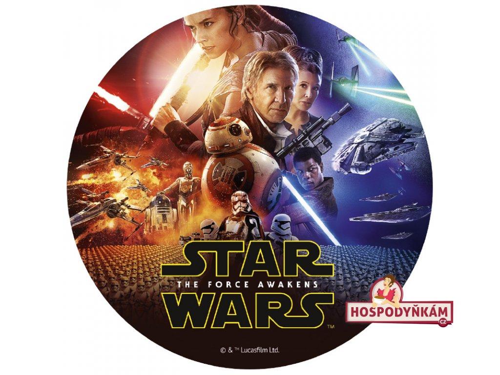 Fondánový obrázek Star Wars