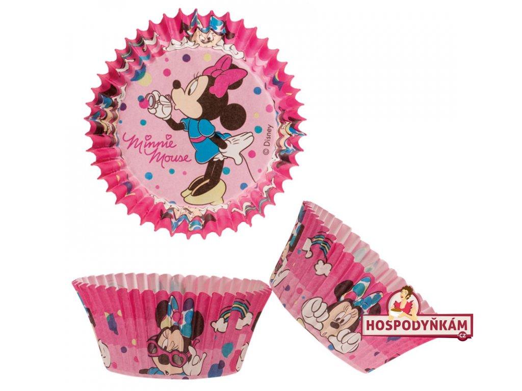 Cukrářské košíčky na pečení Minnie Mouse