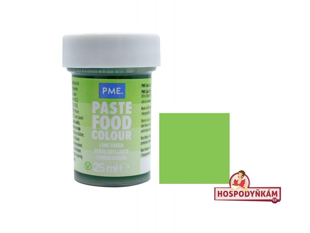 Gelová barva PME Lime Crush