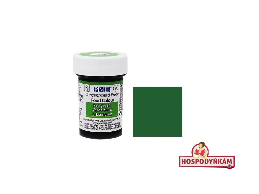 Gelová barva PME Pea Green