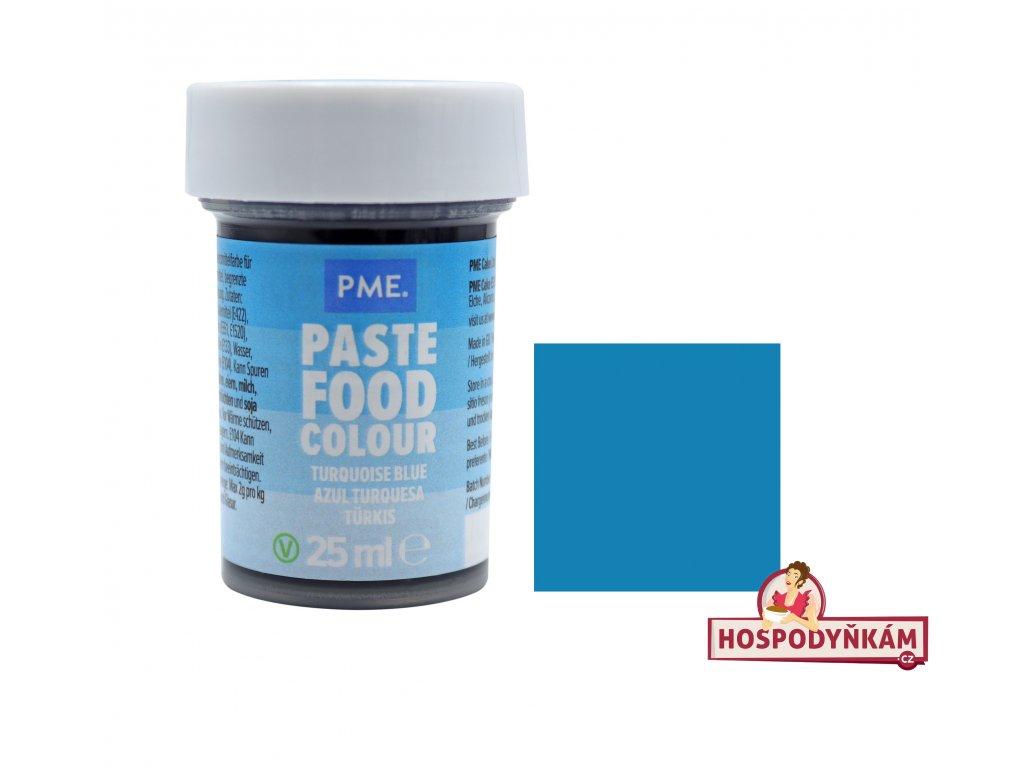 Gelová barva PME Turquoise Blue