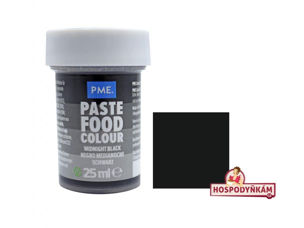 Gelová barva PME Midnight Black