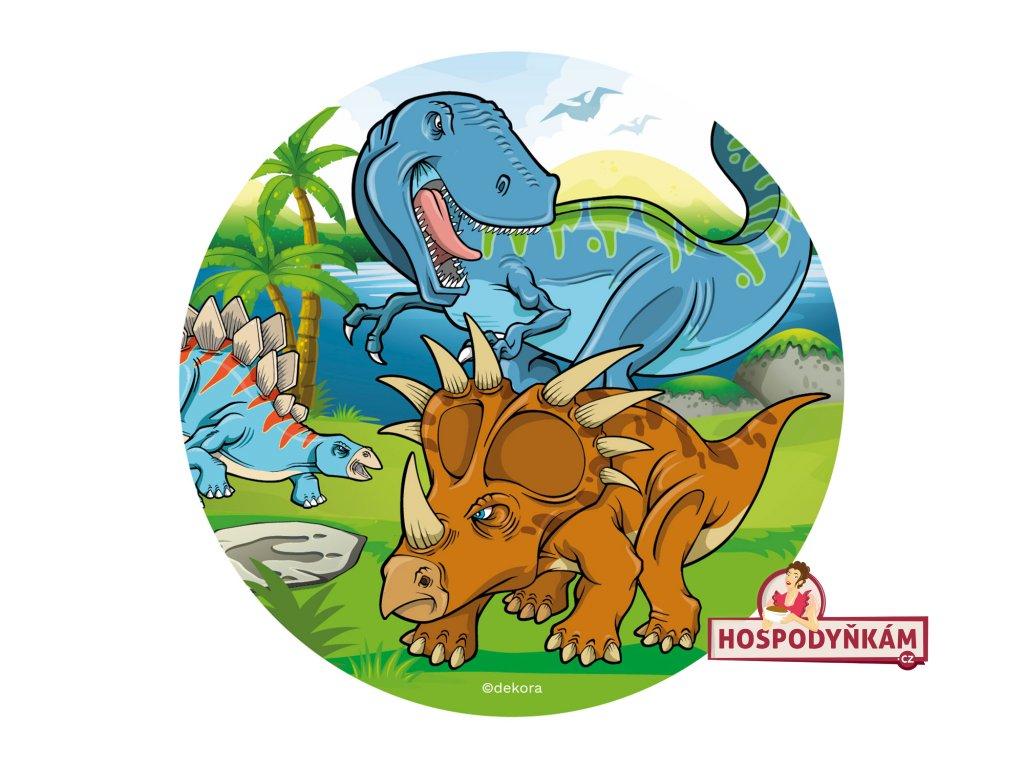 Jedlý papír deKora, Dinosauři