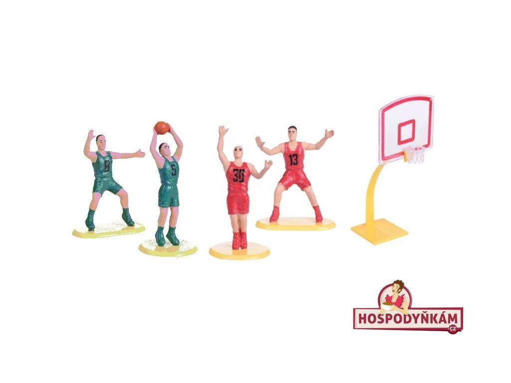 Figurka na dort basketbal