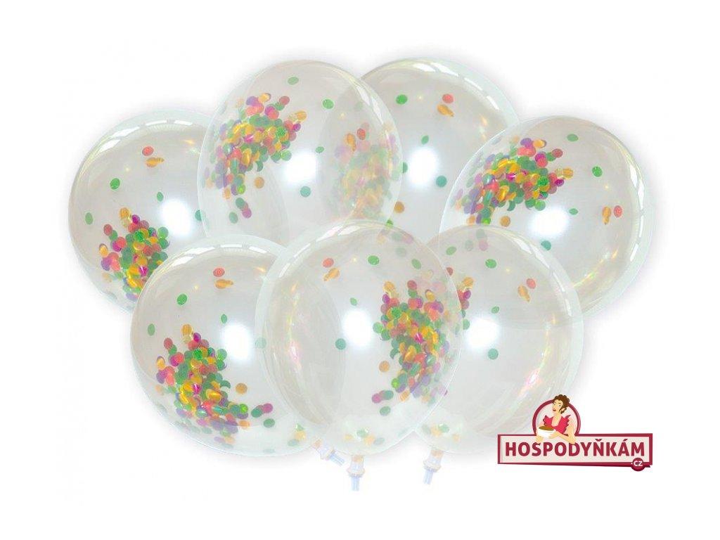 Balónky s konfetami 7ks