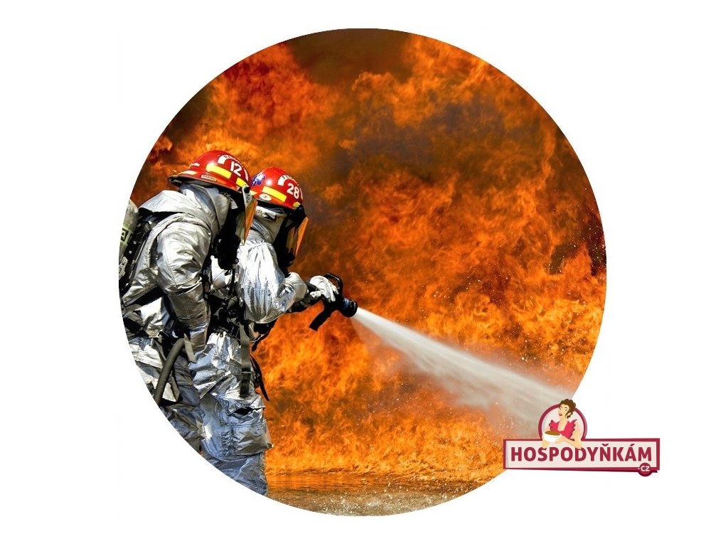 Jedlý papír hasiči