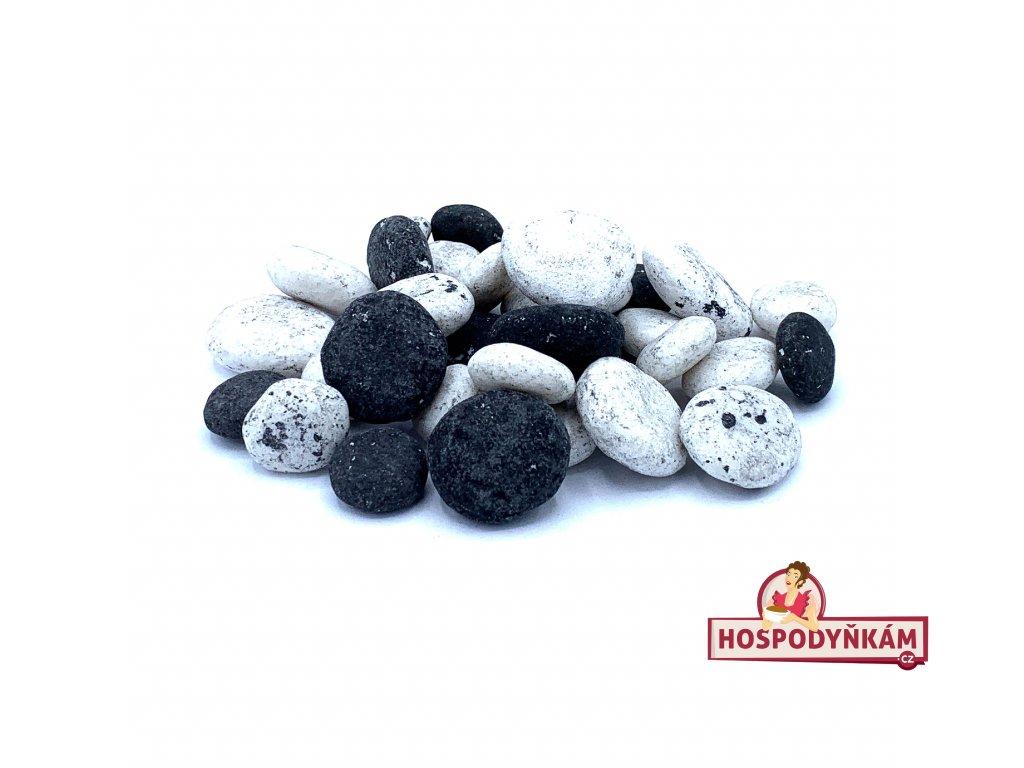 Jedlé kameny černo bílé 150g