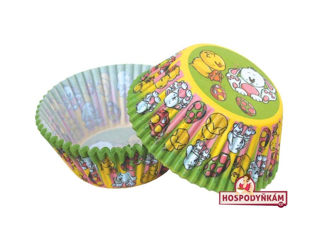 Cukrářské košíčky kuřátko a zajíček
