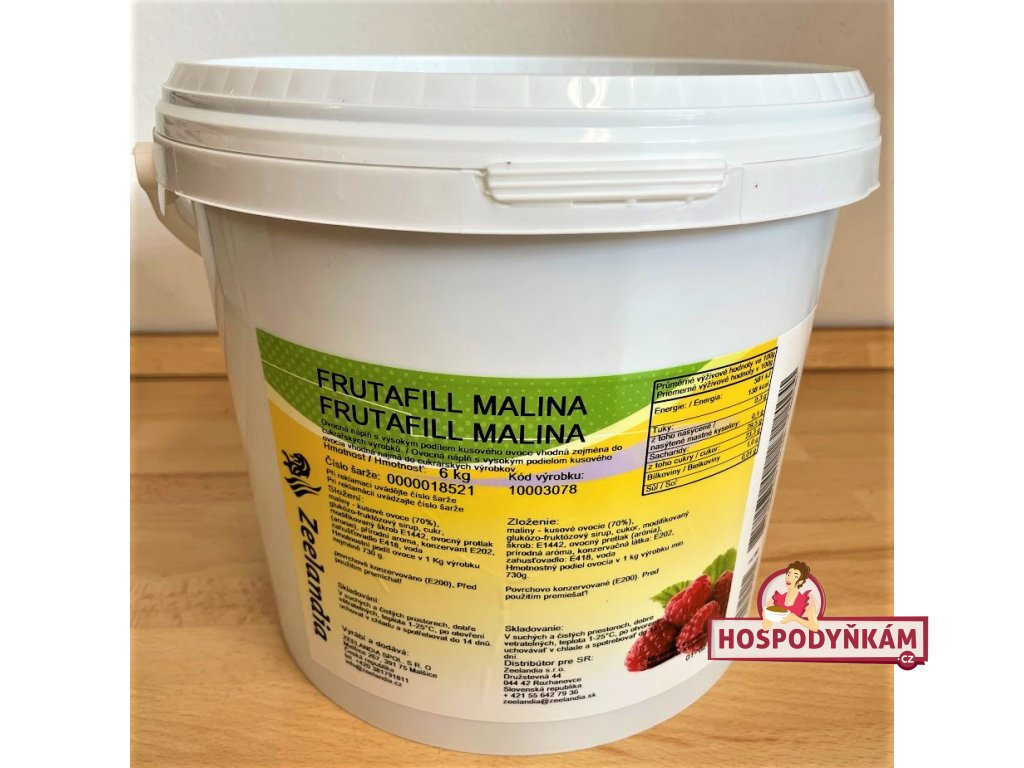 Frutafill malinový 6kg