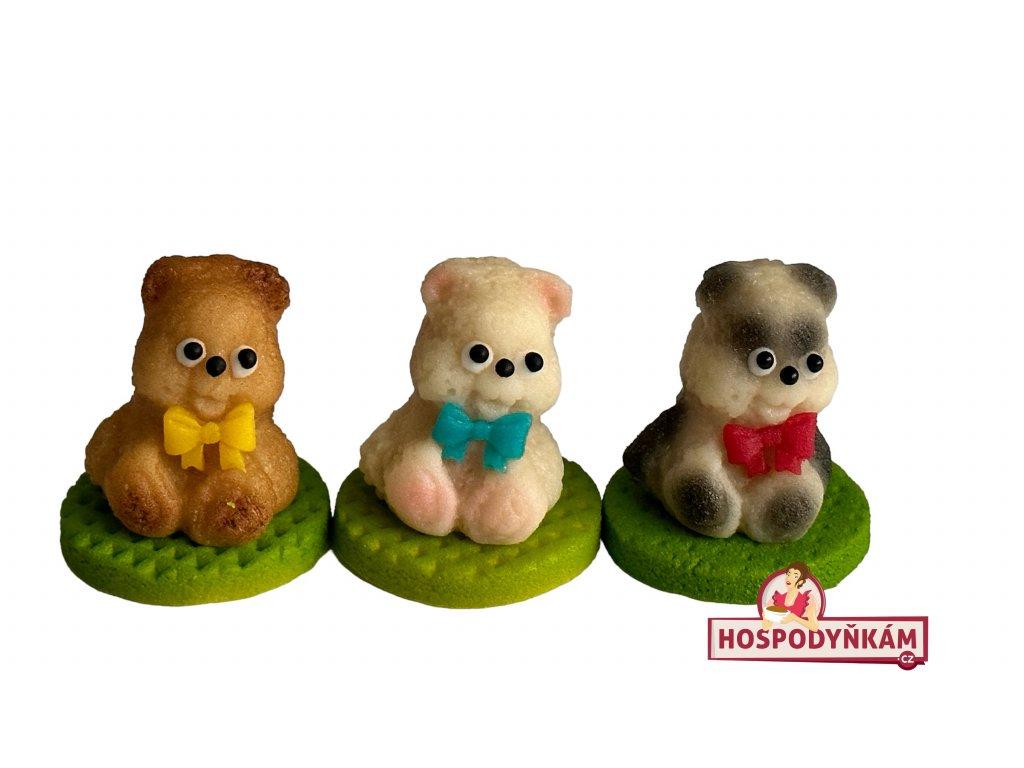 Marcipánová figurka Medvídek s mašlí