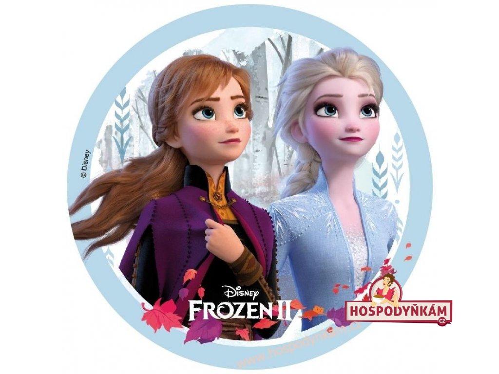 Jedlý papír Frozen II, motiv 1
