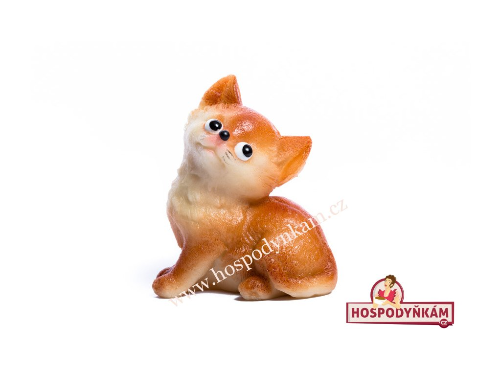 Marcipánová figurka Roztomilá kočička