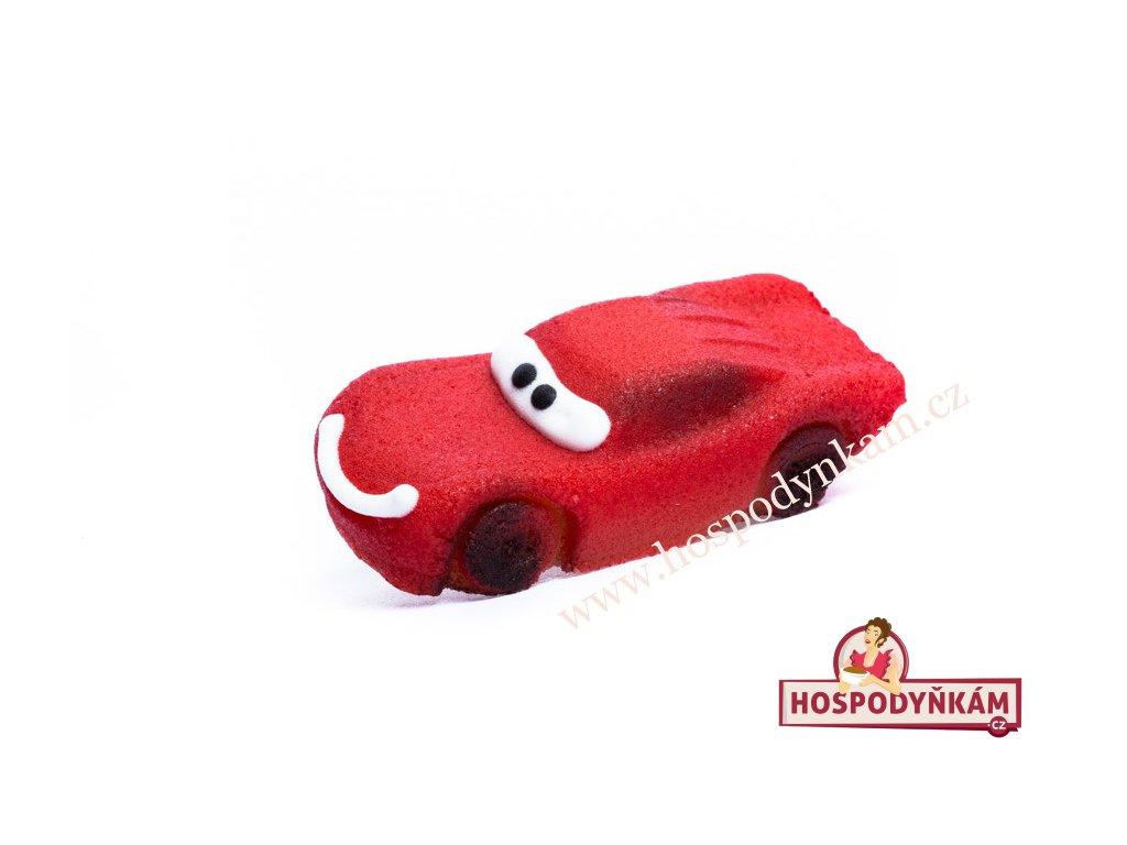 Marcipánová figurka Závodní auto