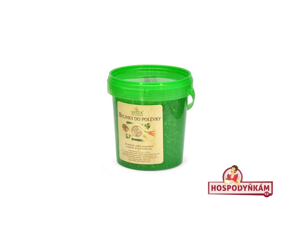 Velké balení koření Bylinky do polévky 250g