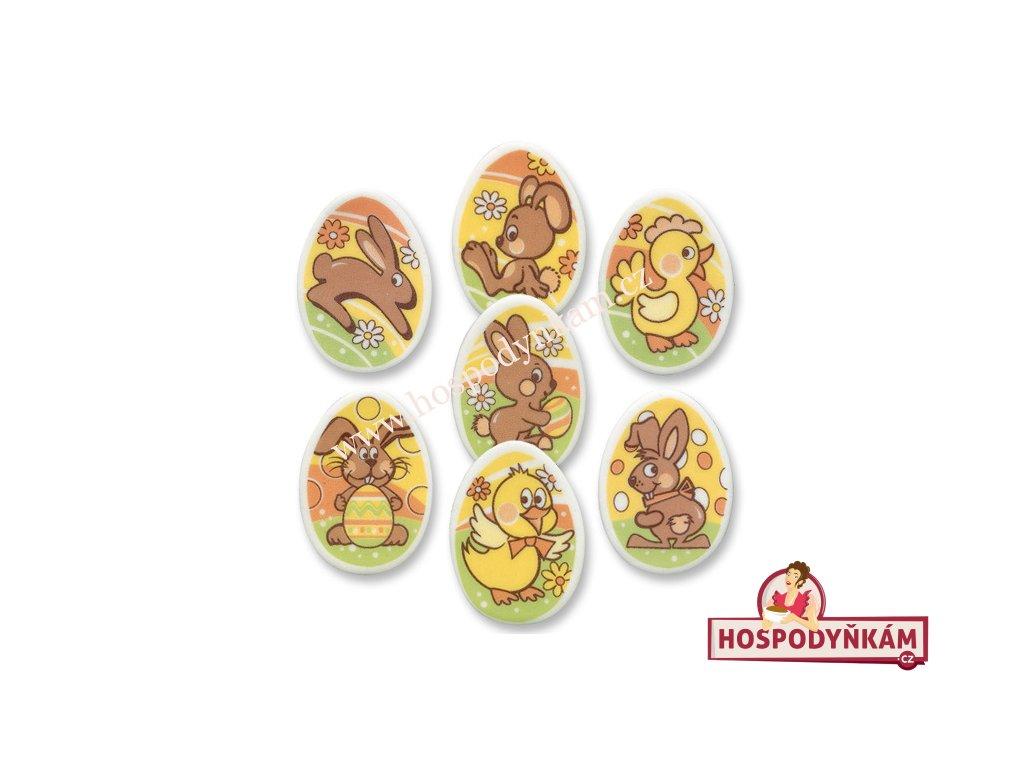 Jedlý obrázek  Velikonoční vajíčka 5ks