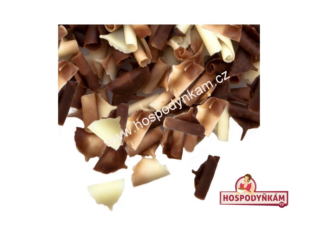 Čokoládové kudrny duo 50g