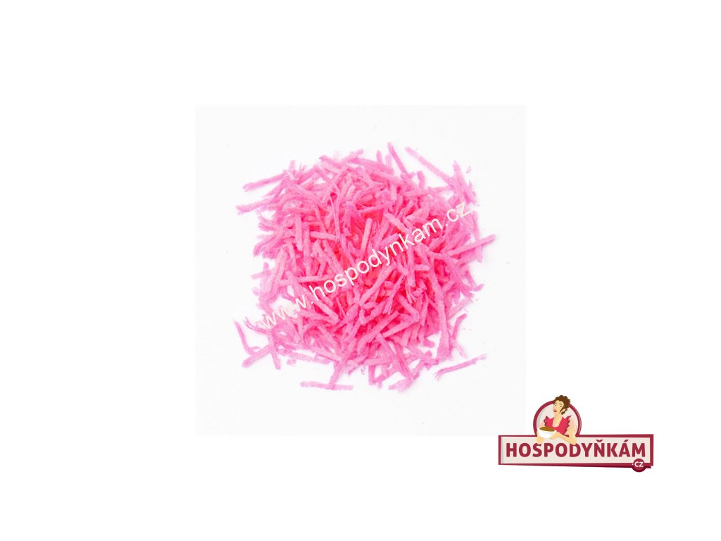 Jedlý papír - hoblinky růžové