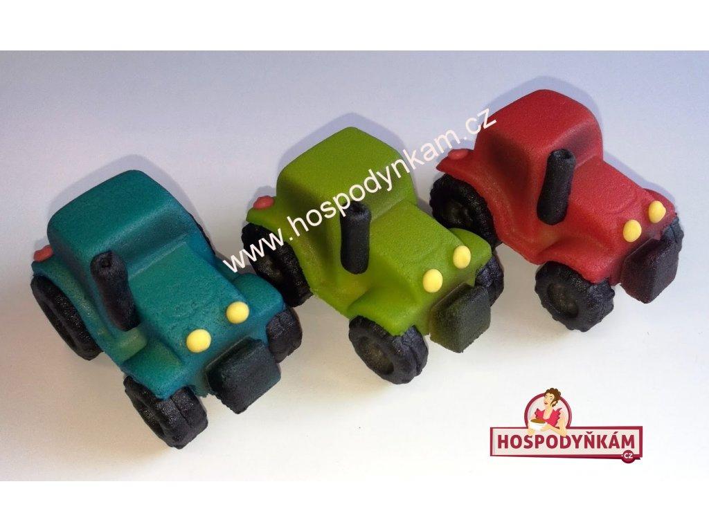 Marcipánová figurka Traktor