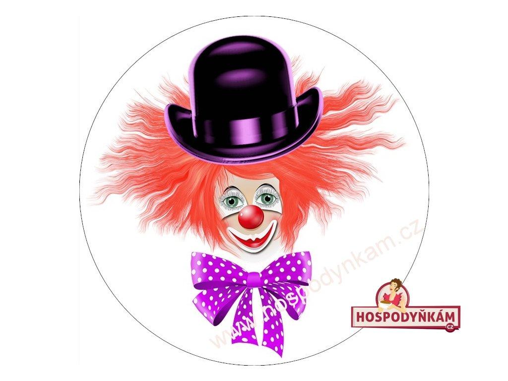 Jedlý papír klaun