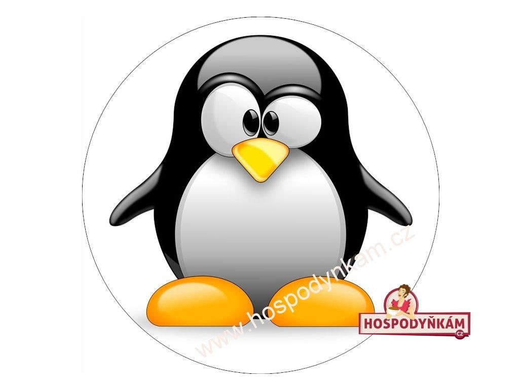 Jedlý papír tučňák