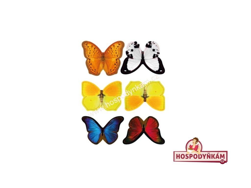 Jedlý papír Barevní motýli