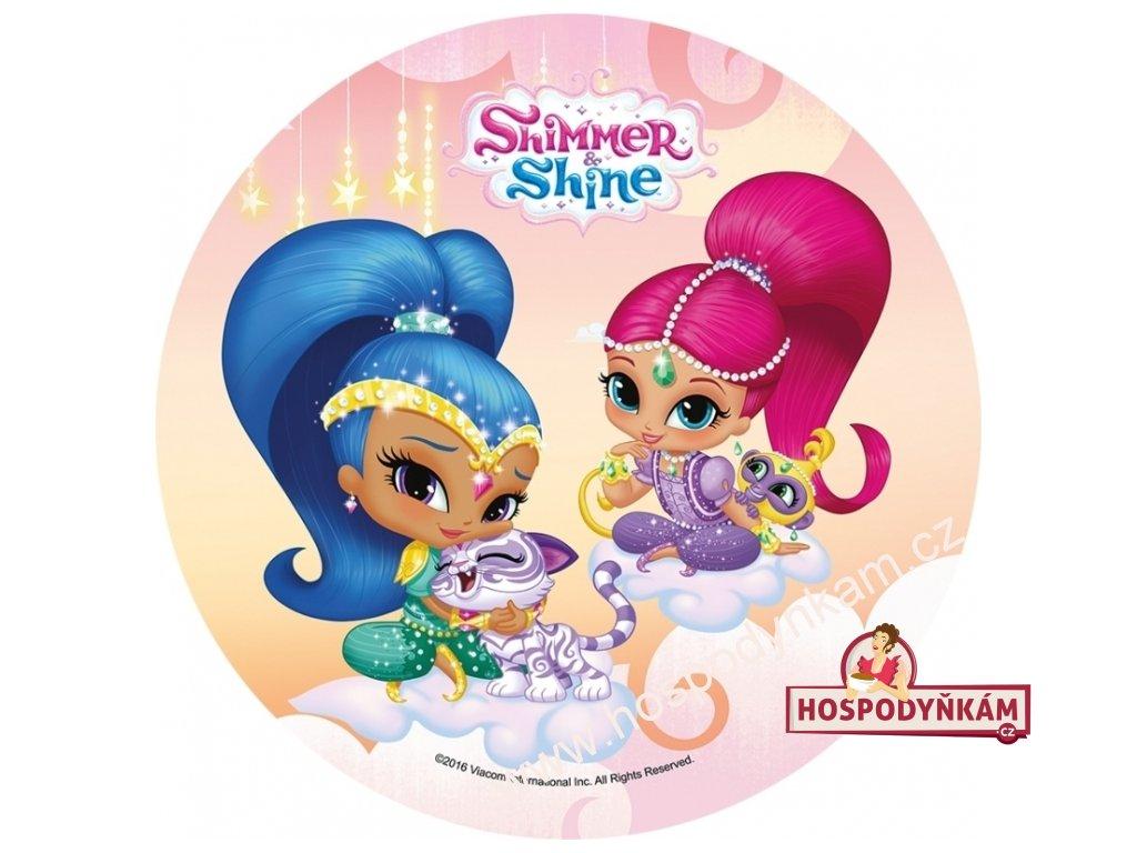 Jedlý papír Shimmer and Shine 2