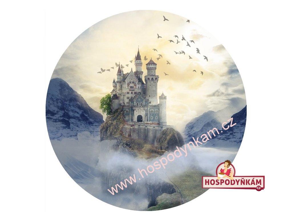 Jedlý papír tajemný hrad