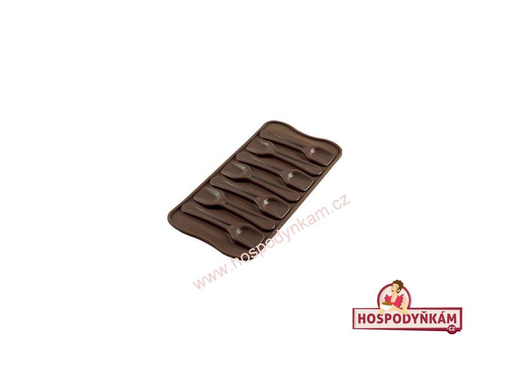 Silikonová forma na čokoládu Spoon