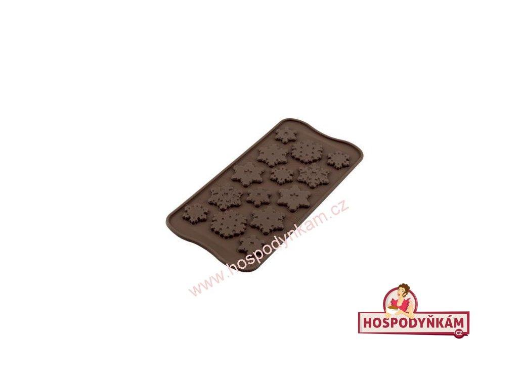 Silikonová forma na čokoládu Frozen