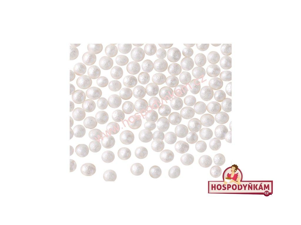 Křupinky- perličky bílé 50g