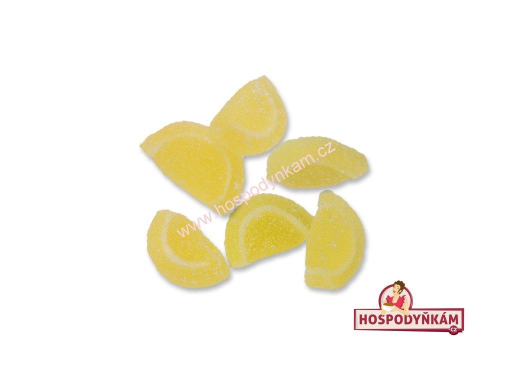 Želé dekorace - citróny 50g