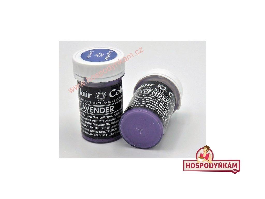 Gelová barva Sugarflair Lavender