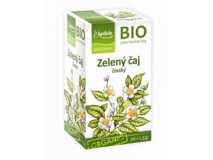 BIO Zelený čaj Apotheke
