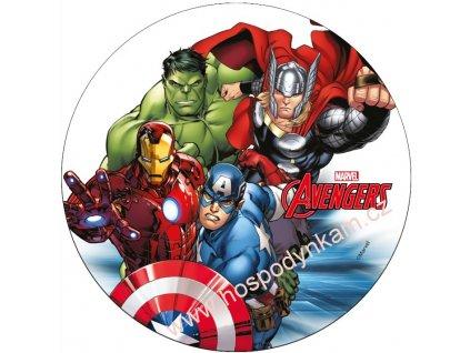 Jedlý papír Avengers 2