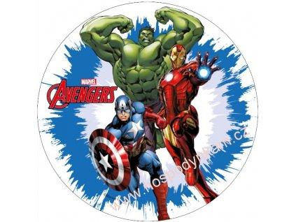 Jedlý papír Avengers 3