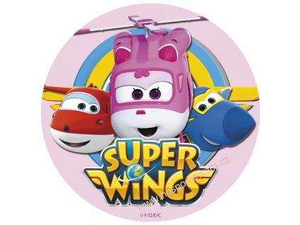 Jedlý papír deKora, Super Wings (růžová)