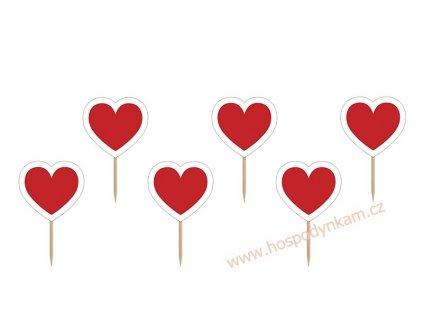Zapichovací dekorace srdce