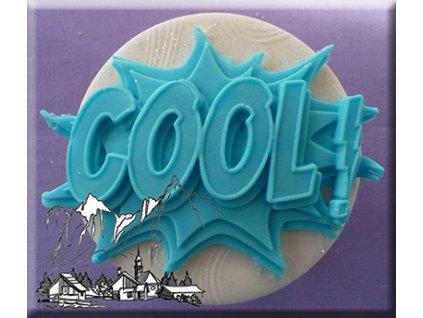 Silikonová forma na marcipán - nápis Cool