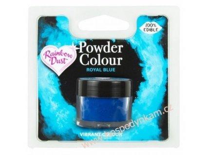 Prachová barva Royal Blue