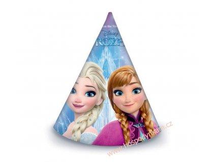 Papírové čepičky Frozen