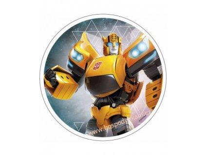 Jedlý papír Transformers 2