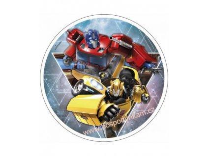 Jedlý papír Transformers 3
