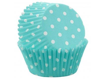 Cukrářské košíčky Mami Modré s puntíky