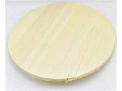 Dortový stojan otočný dřevěný 38cm