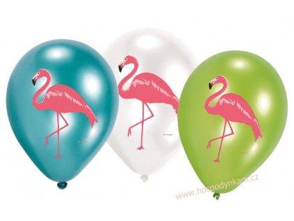 Balónky Plameňák 6ks