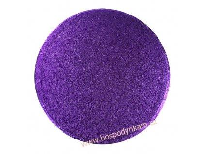 Culpitt Fialový tác kruh 35,5cm