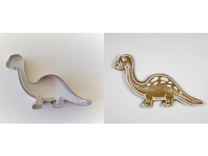 Nerezové vykrajovátko Brontosaurus