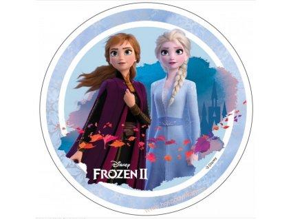 Jedlý papír Frozen II, motiv 2